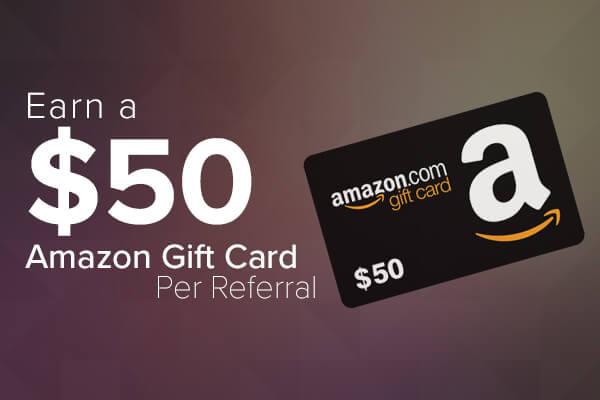 Earn a $50 Amazon Gift Card