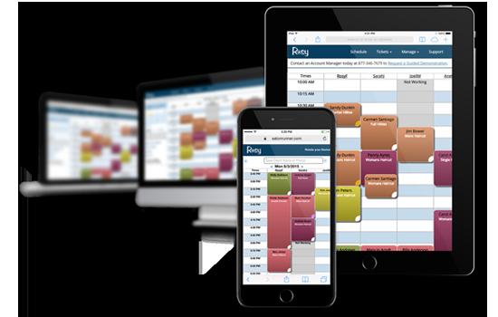 Online Client Scheduling