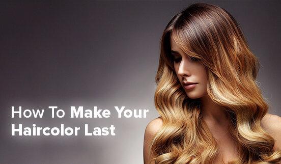 Make Your Haircolor Last