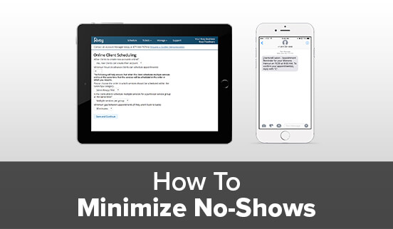 How To Minimize No-Shows