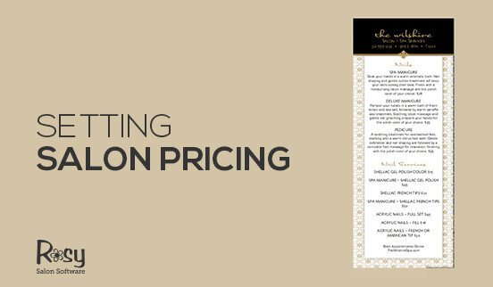 Setting Salon Pricing