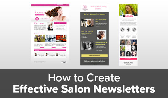 How to Create Effective Salon Newsletters
