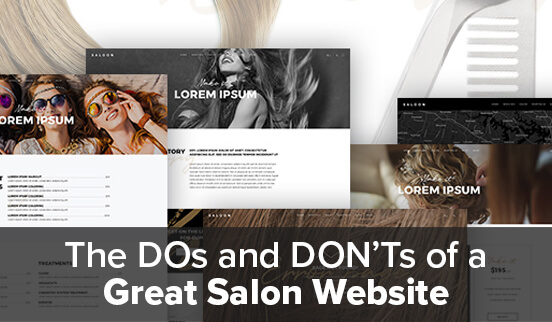 The DOs and DON'Ts of a Great Salon Website