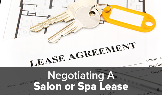 Negotiating A Salon Or Spa Lease Rosy Salon Software