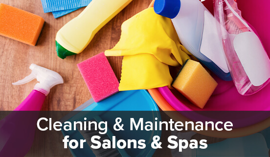Cleaning & Maintenance for Salons & Spas