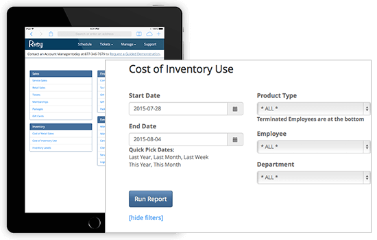 Inventory Management feature