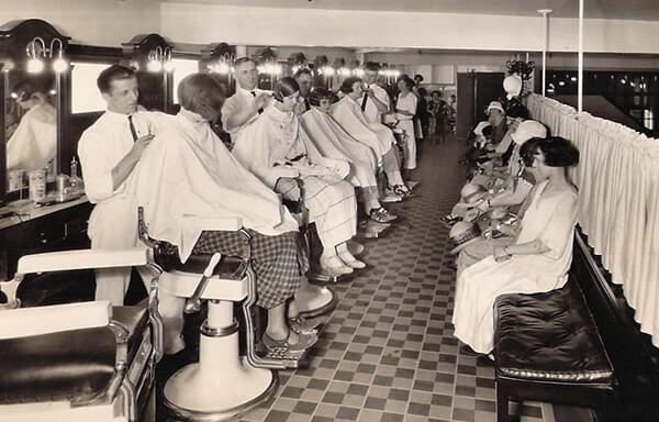 Glemby Hairdressing Cleveland Ohio 1920's