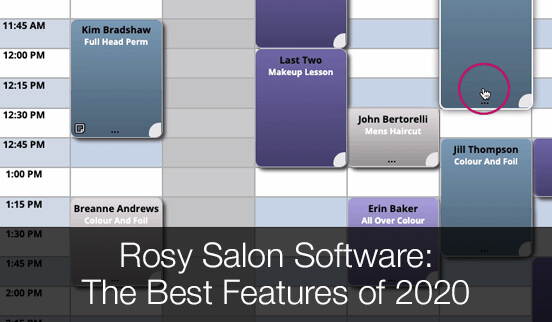 Rosy Salon Software The Best Features of 2020
