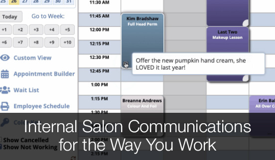 Internal Salon Communications for the Way You Work