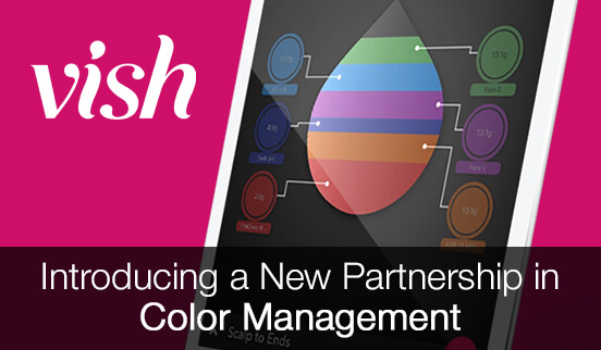 Vish - the salon industry's top color management system.